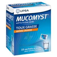Mucomyst 200 Mg Poudre Pour Solution Buvable En Sachet B/18 à AIX-EN-PROVENCE