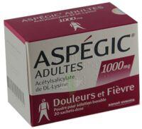 Aspegic Adultes 1000 Mg, Poudre Pour Solution Buvable En Sachet-dose 15 à AIX-EN-PROVENCE