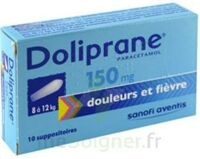 Doliprane 150 Mg Suppositoires 2plq/5 (10) à AIX-EN-PROVENCE