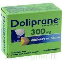 Doliprane 300 Mg Poudre Pour Solution Buvable En Sachet-dose B/12 à AIX-EN-PROVENCE