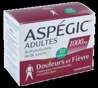 Aspegic Adultes 1000 Mg, Poudre Pour Solution Buvable En Sachet-dose 30 à AIX-EN-PROVENCE