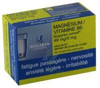 Magnesium/vitamine B6 Biogaran Conseil 48 Mg/5 Mg, Comprimé Pelliculé à AIX-EN-PROVENCE