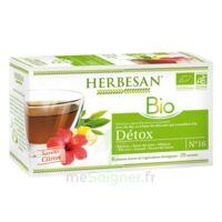 Herbesan Infusion Bio Tisane Détox 20 Sachets à AIX-EN-PROVENCE