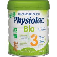 Physiolac Bio Lait 3éme Age 800g à AIX-EN-PROVENCE