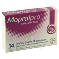 Mopralpro 20 Mg Cpr Gastro-rés Film/14 à AIX-EN-PROVENCE