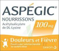 Aspegic Nourrissons 100 Mg, Poudre Pour Solution Buvable En Sachet-dose à AIX-EN-PROVENCE