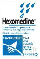 Hexomedine Transcutanee 1,5 Pour Mille, Solution Pour Application Locale à AIX-EN-PROVENCE