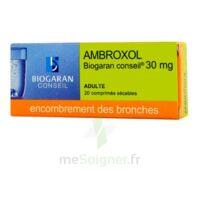Ambroxol Biogaran Conseil 30 Mg, Comprimé Sécable à AIX-EN-PROVENCE