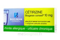 Cetirizine Biogaran Conseil 10 Mg, Comprimé Pelliculé Sécable à AIX-EN-PROVENCE