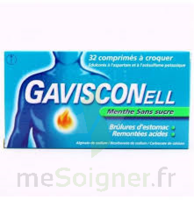 Gavisconell Coprimés à Croquer Sans Sucre Menthe édulcoré à L'aspartam Et à L'acésulfame Potas Plq/24 à AIX-EN-PROVENCE