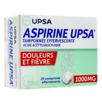 Aspirine Upsa Tamponnee Effervescente 1000 Mg, Comprimé Effervescent à AIX-EN-PROVENCE