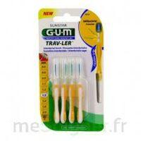 Gum Trav - Ler, 1,3 Mm, Manche Jaune , Blister 4 à AIX-EN-PROVENCE
