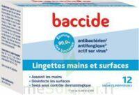 Baccide Lingette Désinfectante Mains & Surface 12 Pochettes à AIX-EN-PROVENCE