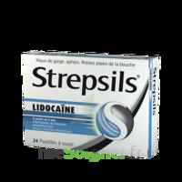 Strepsils Lidocaïne Pastilles Plq/24 à AIX-EN-PROVENCE