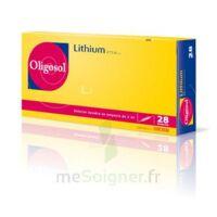 Oligosol Lithium Solution Buvable En Ampoule Ou En Récipient Unidose 28amp/2ml à AIX-EN-PROVENCE