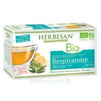 Herbesan Thym Bio Tisane Respiratoire 20 Sachets à AIX-EN-PROVENCE