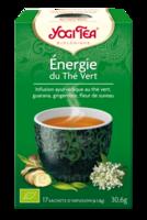 Yogi Tea Thé énergie Du Thé Vert Bio 17 Sachets à AIX-EN-PROVENCE