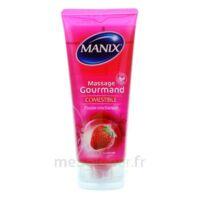 Manix Gel Comestible De Massage Fraise 200ml à AIX-EN-PROVENCE