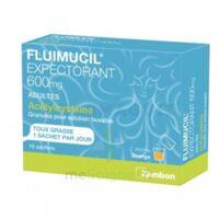 Fluimucil Expectorant Acetylcysteine 600 Mg Glé S Buv Adultes 10sach à AIX-EN-PROVENCE