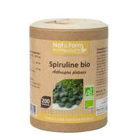 Nat&form Eco Responsable Spiruline Bio Comprimés B/200 à AIX-EN-PROVENCE