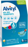 Alvityl Sucette Mal Des Transports B/10 à AIX-EN-PROVENCE