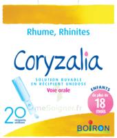 Boiron Coryzalia Solution Buvable Unidose B/20 à AIX-EN-PROVENCE